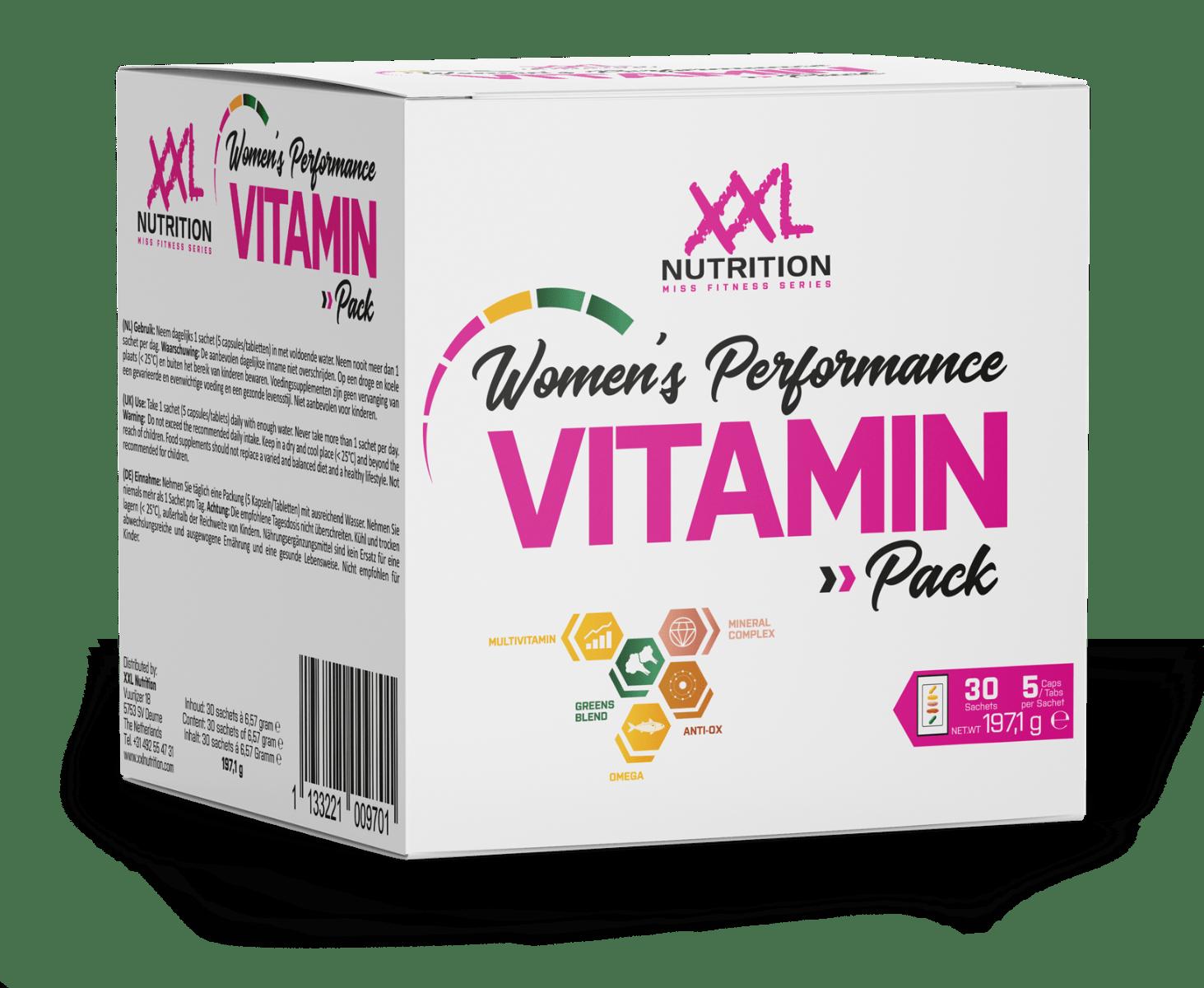 Women's Performance Vitamin Pack - 30 sachets