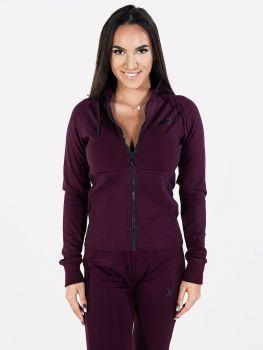 XXL Sportswear Miysis Jacket - Burgundy