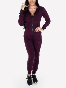 XXL Sportswear Miysis Jacket + Hoodie - Burgundy