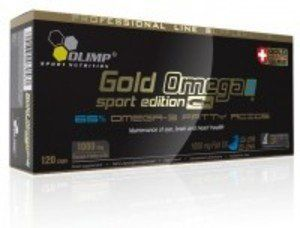 Olimp Gold Omega 3 Sport Edition-120 caps