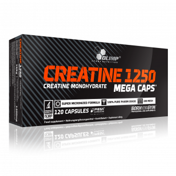 Olimp creatine monohydraat mega caps