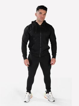 XXL Sportswear Men's Essential Jacket & Jogger - Black