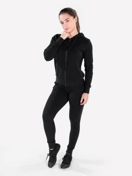 XXL Sportswear Women's Essential Jacket & Jogger - Black