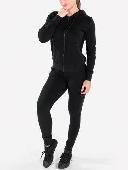 XXL Sportswear Women's Essential Jacket & Jogger - Black