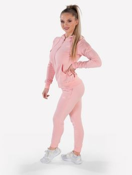 XXL Sportswear Women's Essential Jacket & Jogger - Powder Pink