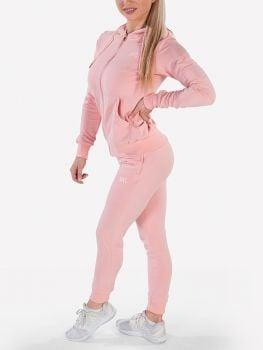 XXL Sportswear Women's Essential Jacket & Jogger - Powder Pink