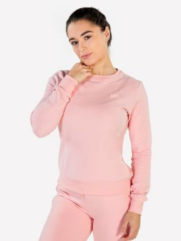 XXL Sportswear Women's Essential Sweater - Powder Pink