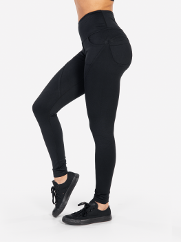 XXL Sportswear Legging Tight High Waist - Black