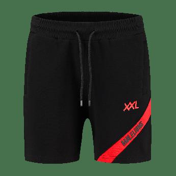 XXL Sportswear Malelions Pre-match short - Black/Red
