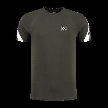 XXL Sportswear Malelions Pre-match T-shirt - Army white
