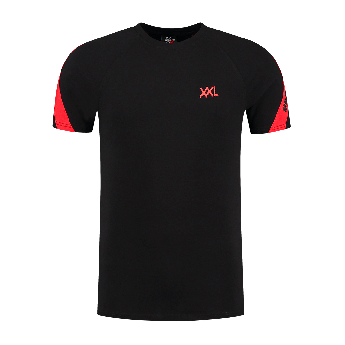 XXL Sportswear Malelions Pre-match T-shirt - Black Red