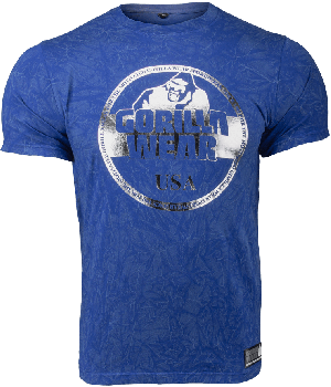 Gorilla Wear Rocklin T-shirt - Blue