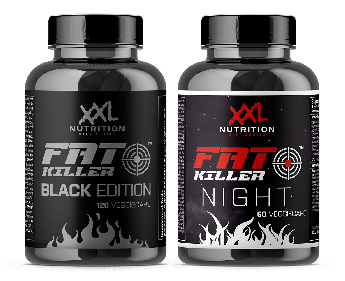 XXL Nutrition - 24 Hour Fat Killer Stack - Black Edition