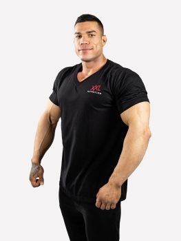 XXL Nutrition V-neck Bigger is Better - Black