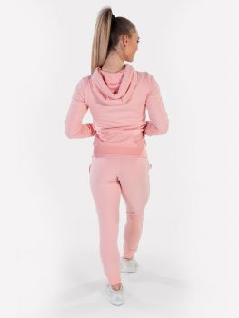 Women's Essential Jacket & Jogger Powder Pink