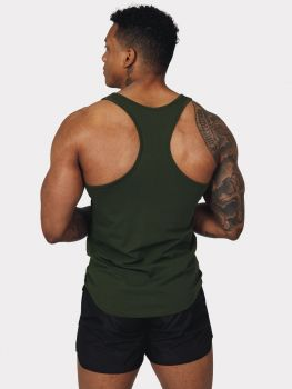 Flex Tank Top - Dark Forest