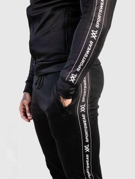 XXL Sportswear Track Jogger - Black