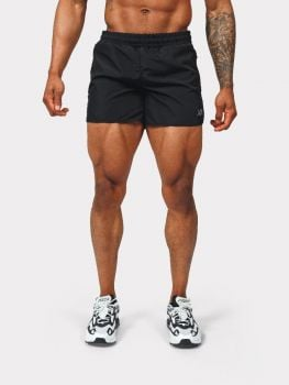 Gym short - Black/Petrol