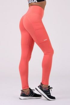 Nebbia High Waist Fit&Smart Legging 505 - Peach