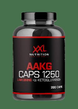 AAKG Caps - 1250mg - 200 Caps