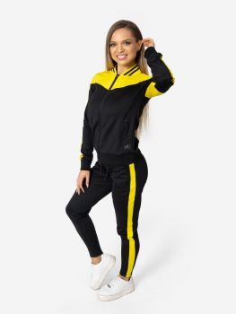 XXL Sportswear Active Jacket - Black/Yellow