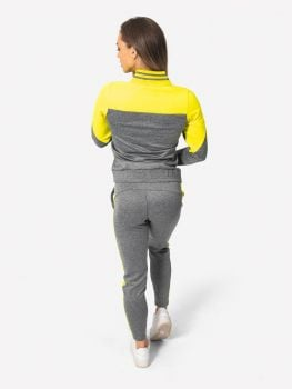 Active Trainingsanzug - Grey/Yellow