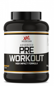 Advanced Pre Workout - Passion Fruit - 750 gram