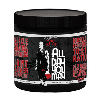 Rich Piana 5% Nutrition ALLDAYUMAY