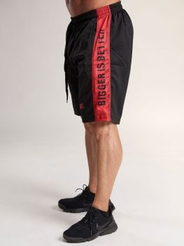 XXL Sportswear Short Bigger is Better - Black/Red