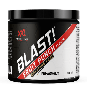 Blast! Pre Workout - Fruit Punch (Cafeïnevrij) - 300 gram
