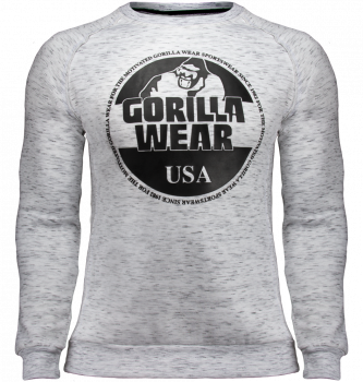 Gorilla Wear Bloomington Crewneck Sweatshirt - Grey