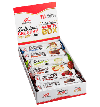 Delicious Crunchy Protein Bar - Variety Box - 10 flavors