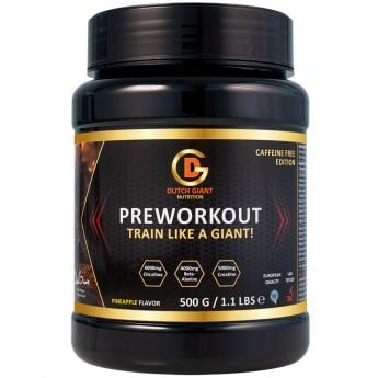 Dutch Gaint Nutrition Pre Workout