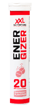 Energizer - 20 Effervescent tablets - Raspberry