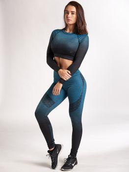 XXL Sportswear Fade Out Set - Lagune Green