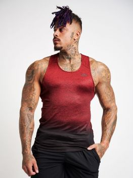 XXL Sportswear Fade Out Tanktop Red