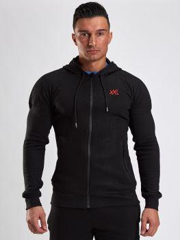 XXL Sportswear Fitted Jacket - Black