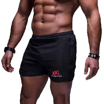 XXL Sportswear Gym Short - Black