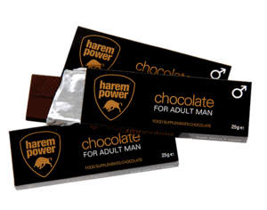 Harem Power Libido Chocolate - 1 reep - 25g