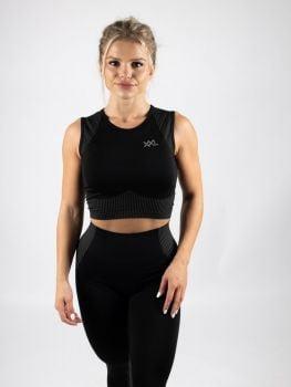 XXL Sportswear Heka crop top Black