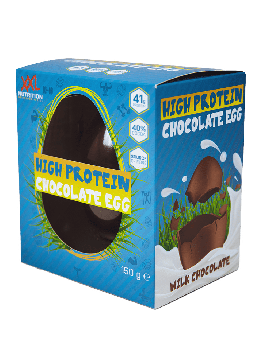 High Protein Chocolate Egg - 1 pcs- Milk Chocolate