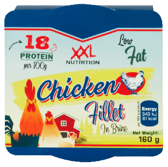 Ready to eat chicken - 160 gram