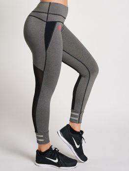 XXL Sportwear Legging Mesh - Grey