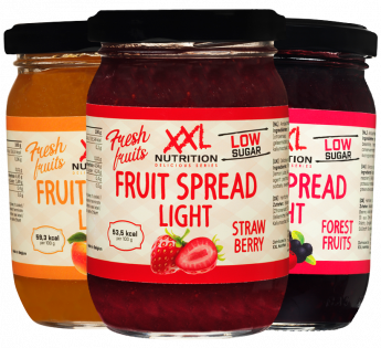 Light Fruit Spread - 3 Combo Pack