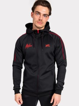 Malelions XXL Sportswear // jacket - black/red