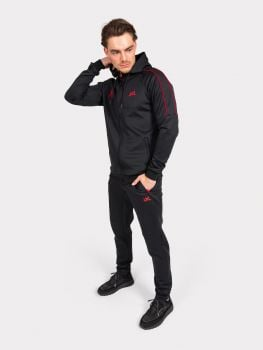 Malelions // XXL Track Suit - Black/Red