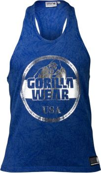Gorilla Wear Mill Valley Tank Top - Blue