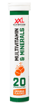 Multivitamin & Minerals - 20 Brausetabletten  - Orange
