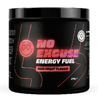No Excuse Energy Fuel - Rood Fruit - 275 gram
