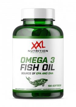 Omega 3 Fish Oil - 100 softgels